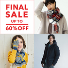 ★MAX60%OFF★ Autumun & Winter FINAL SALE 開催