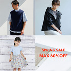 【MAX60%OFF】Stay Home GOLDEN WEEK!THE SPRING SALE★アイテム追加★