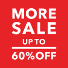 【UP TO 60%OFF】MORE SALE開催