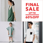 UP TO 60%OFF★FINAL SALE アイテム追加★