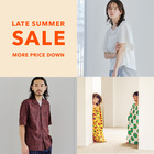 【MAX60%OFF!】LATE SUMMER SALE開催★