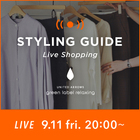 "【EVENT】9/11 20:00~ WOMEN LIVE ""STYLING GUIDE""配信!"