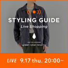 【EVENT】MENS STYLING GUIDE 第二回配信決定!