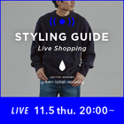 "【LIVE】11/5(木)20:00 ""ハズレなしのKnit&Pants 6選! ""MENS STYLING GUIDE"