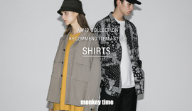 19AW COLLECTION RECOMMEND ITEM/STYLE SHIRTS