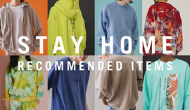 STAY HOME RECOMMENDED ITEMS