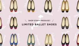 SHOP STAFF PRODUCE!LIMITED BALLET SHOES