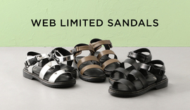 WEB LIMITED SANDALS