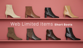 Web Limited Items ~Short Boots~