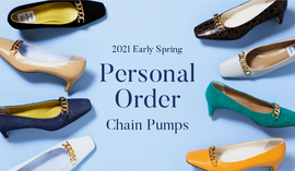 2021 Early Spring Personal Order Chain Pumps