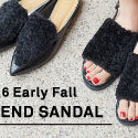 "2016 Early Fall  ""TREND SANDAL"""