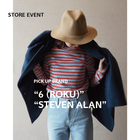 "PICK UP BRAND ""6 (ROKU)"" ""STEVEN ALAN"""