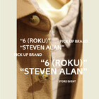"PICK UP BRAND ""6 (ROKU)"" ""STEVEN ALAN"" 2"