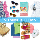 SUMMER ITEMS