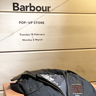 Barbour POP-UP STORE