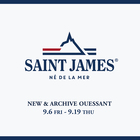EVENT : SAINT JAMES NEW & ARCHIVE OUESSANT