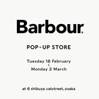 EVENT:Barbour POP-UP STORE