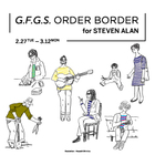 EVENT:G.F.G.S. ORDER BORDER for Steven Alan