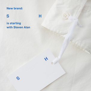 "New brand ""S H"" is starting with Steven Alan"