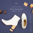 "EVENT:_Fot ""Wood heel collection"" Special Personal Order"