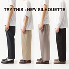 TRY THIS : NEW SILHOUETTE