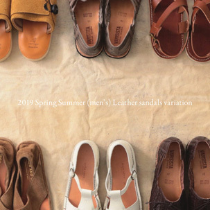 FOCUS:2019 Spring Summer Leather sandals variation