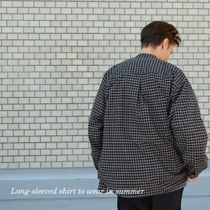 FOCUS:Long-sleeved shirt to wear in summer