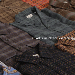 FOCUS:19AW A VARIETY OF FLANNEL SHIRT