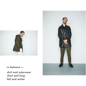 FOCUS:In between - shirt and outerwear short and long fall and winter