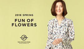 "2018 SPRING  ""FUN OF FLOWERS"""