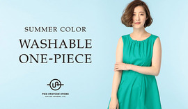 "SUMMER COLOR ""WASHABLE ONE-PIECE"""