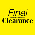 FINAL CLEARANCE 開催!