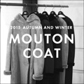 "2015 FALL AND WINTER""MOUTON COAT"""
