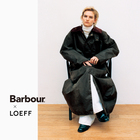 Barbour × LOEFF 「Burghley Riding Coat」発売のおしらせ