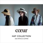 cœur 2020 SPRING & SUMMER HAT COLLECTION