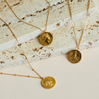 MARIHA COIN NECKLACE NEW ARRIVAL